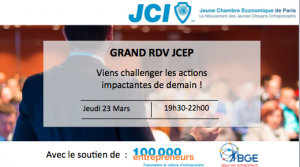 JCE Paris Grand RDV 23 mars 2017